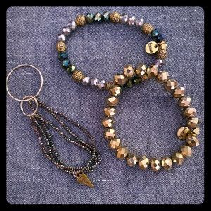 ✨Erimish Set of 3 bracelets ✨